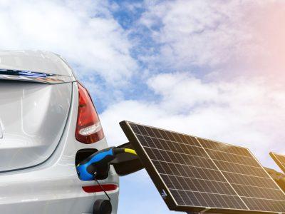 Car fueled by solar energy